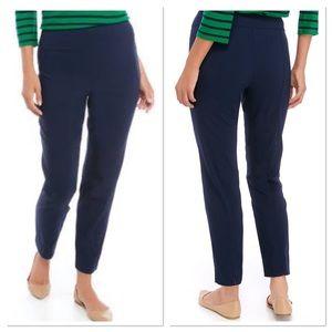 Navy Crown & Ivy Pull On Pants